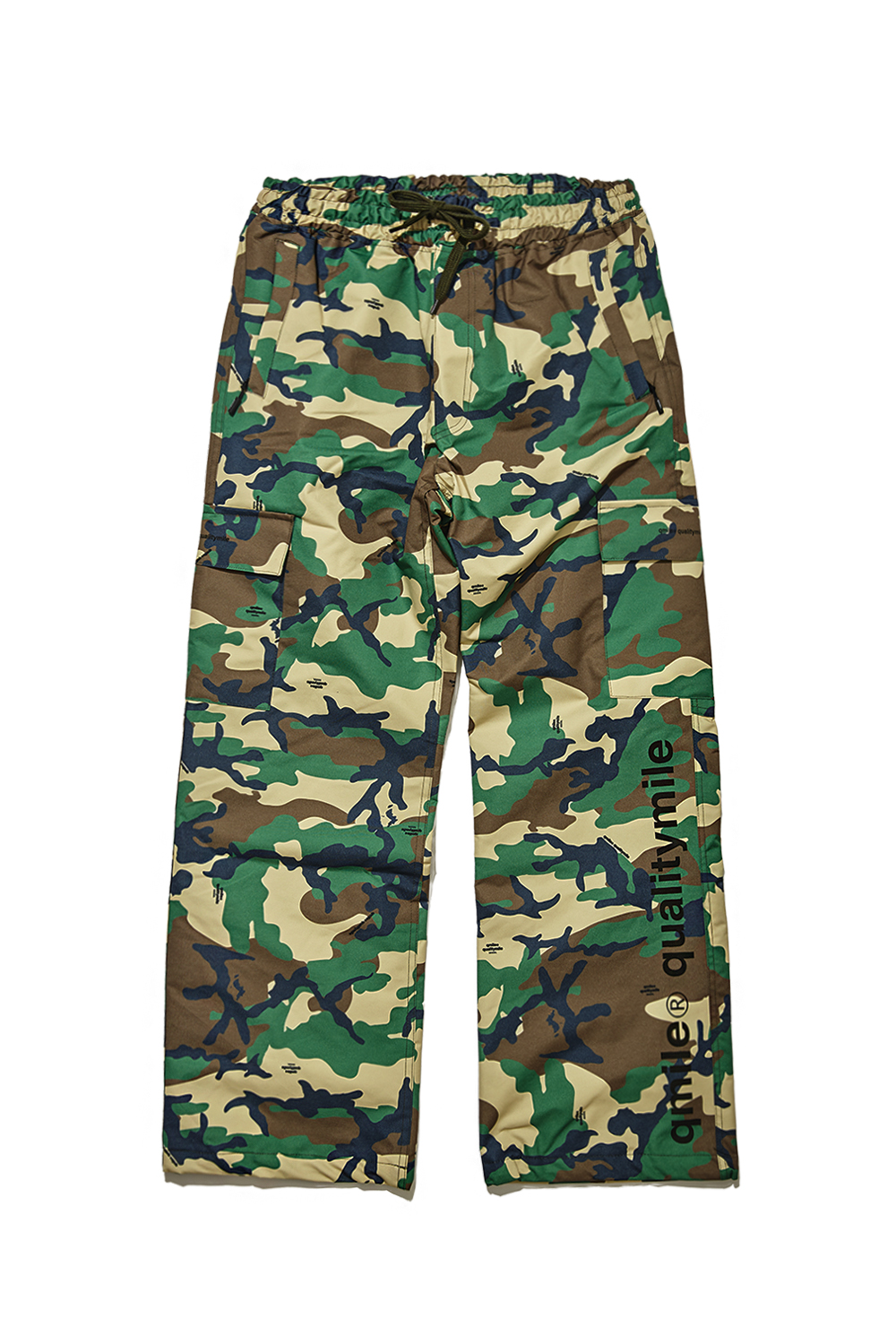 CARGO PANTS | GREEN CAMOUFLAGE