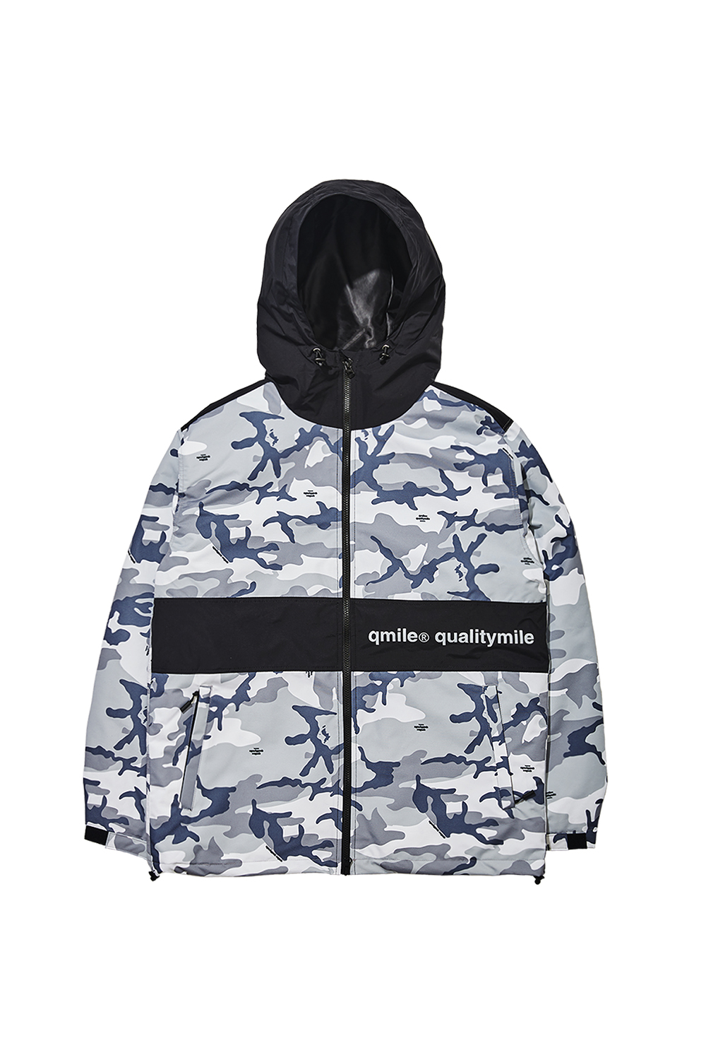 HARD TRAINING JACKET | GREY CAMOUFLAGE