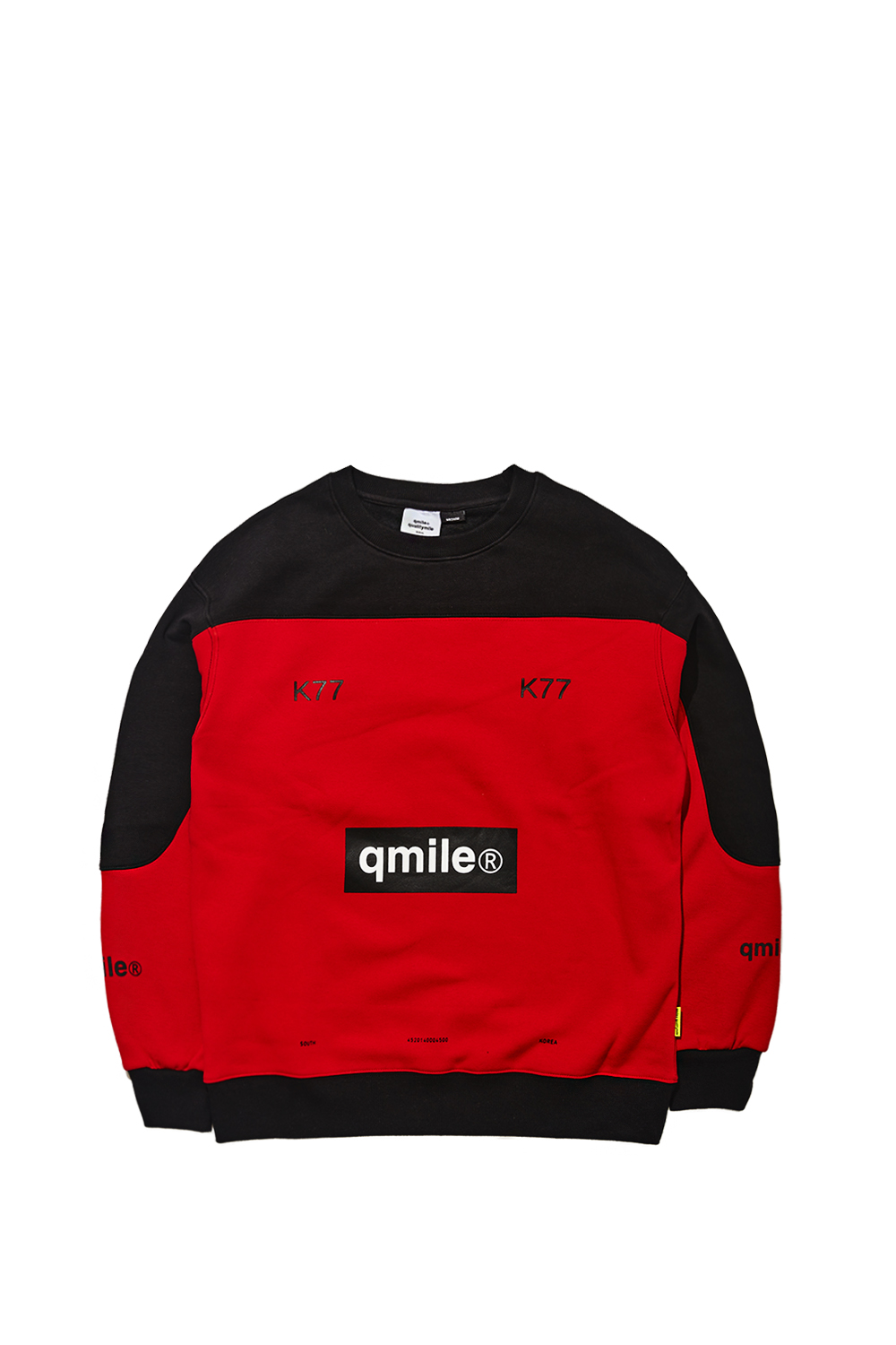 TYMAX BOX BANNER CREWNECK | RED