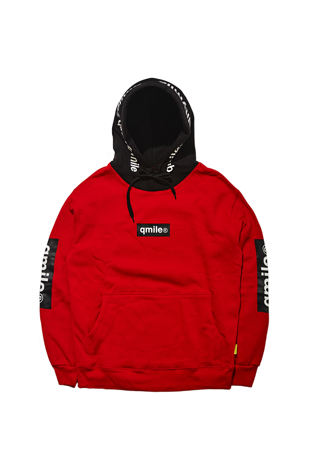 TRIPPLE BOX HOODIE SWEATSHIRTS | RED