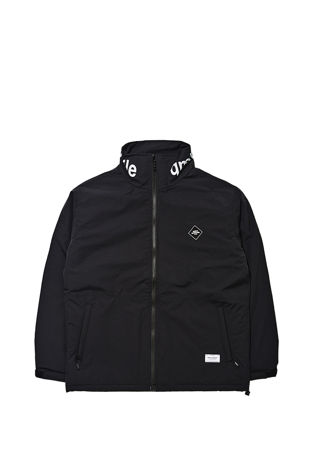 HOODLESS JACKET | BLACK