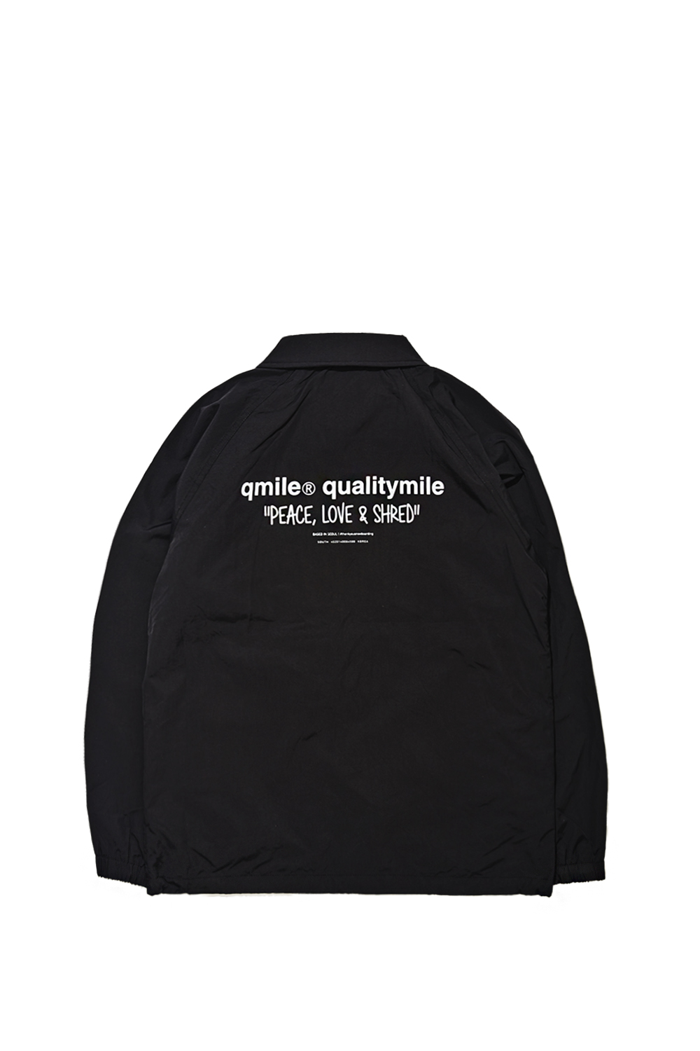 COACH JACKET | BLACK
