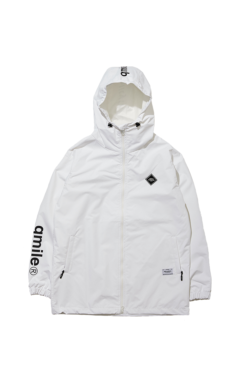 TRAINING HOODIED JACKET | WHITE