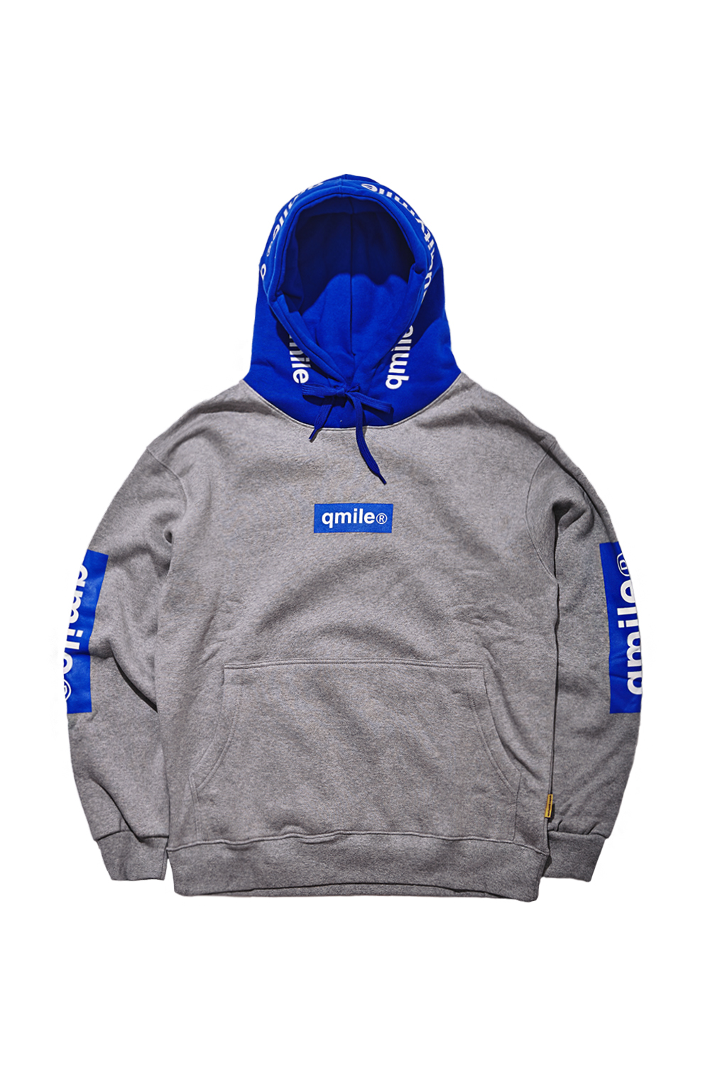 TRIPPLE BOX HOODIE SWEATSHIRTS | GREY