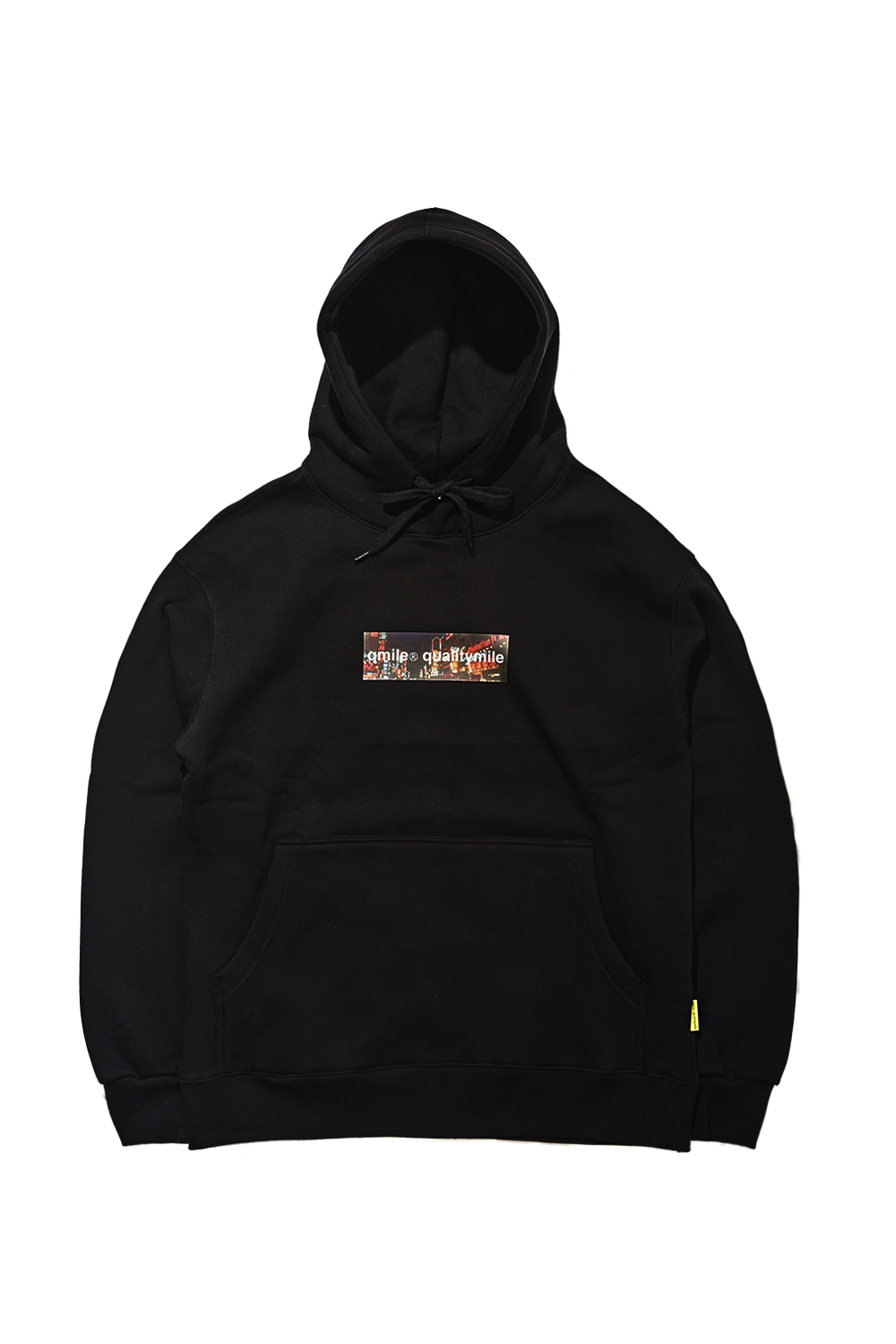 OLD SEOUL NIGHT HOODIE SWEATSHIRTS | BLACK