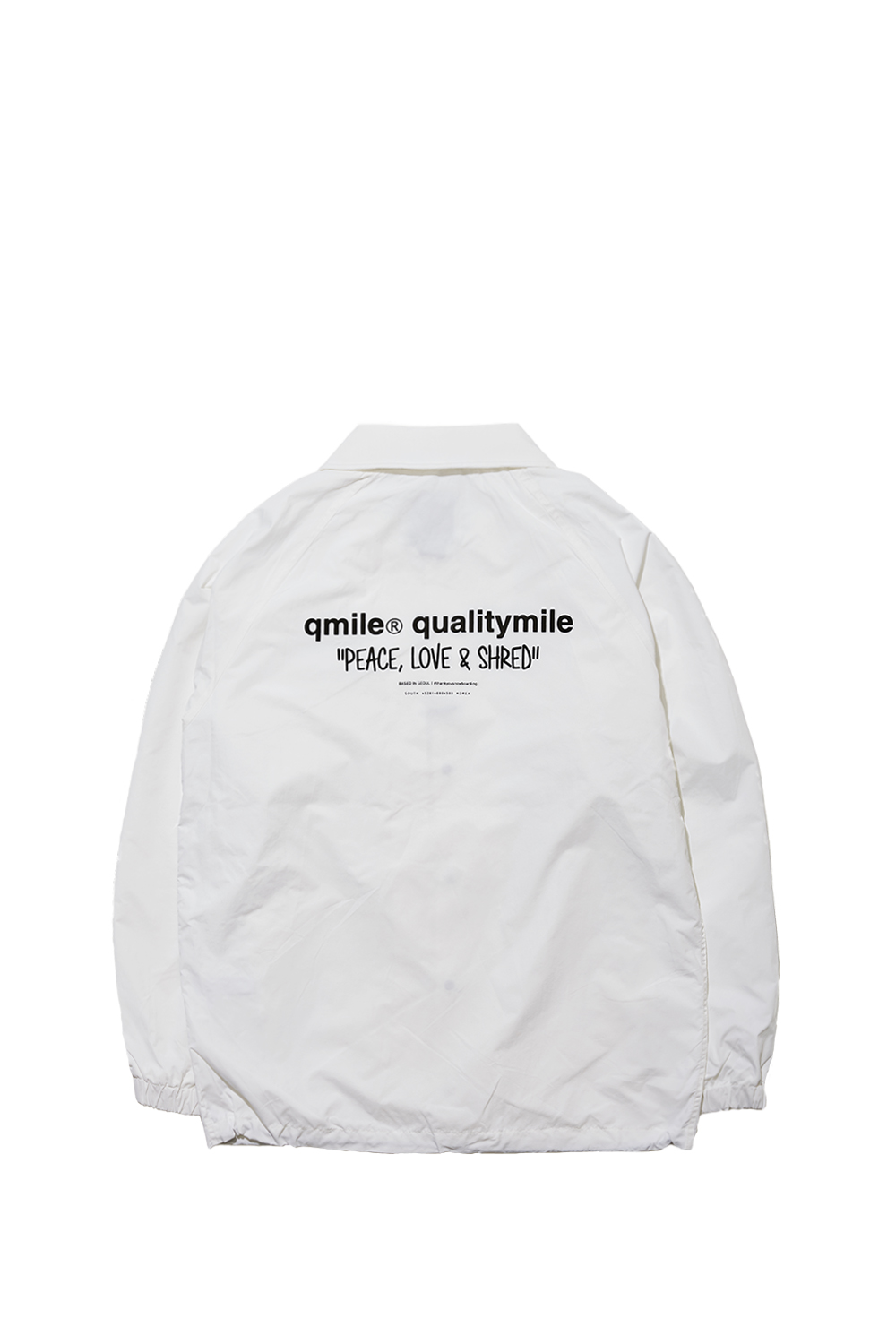 COACH JACKET | WHITE