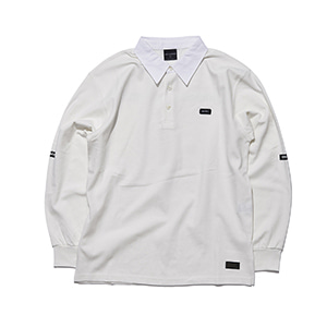CL01 (collar) long sleeve white