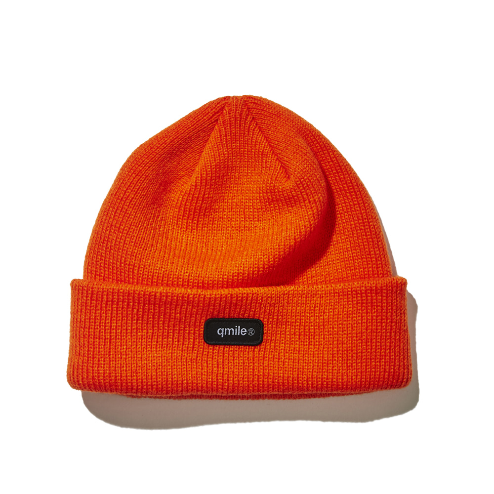 732 BLACK SW BEANIE 	ORANGE