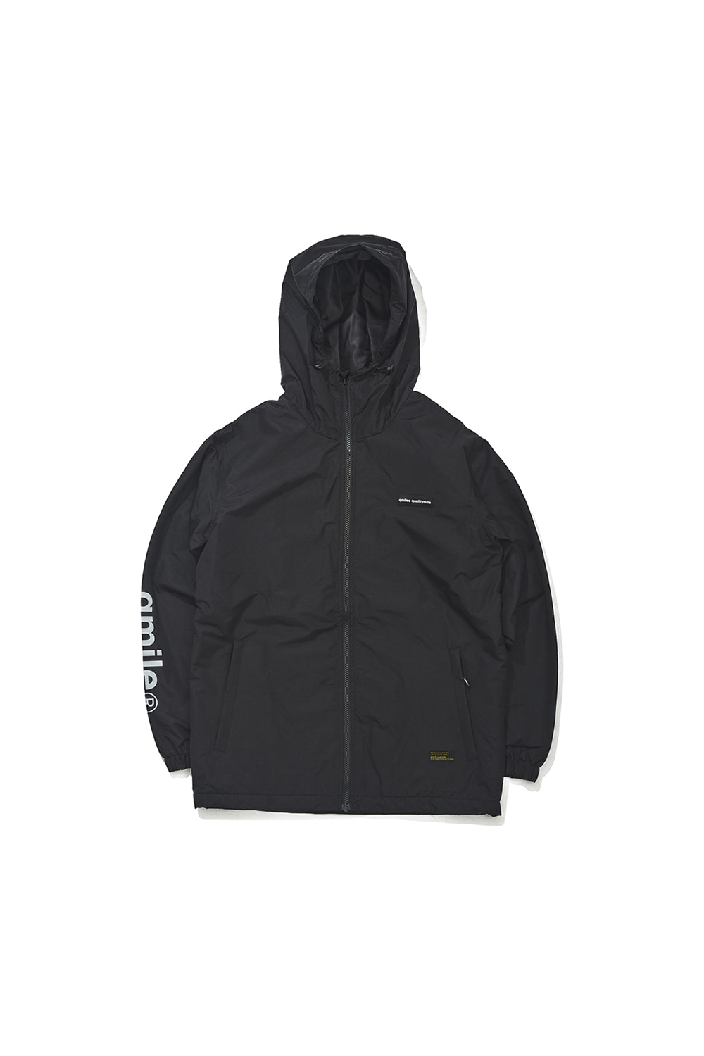281 TRAINING HOODIED 	BLACK