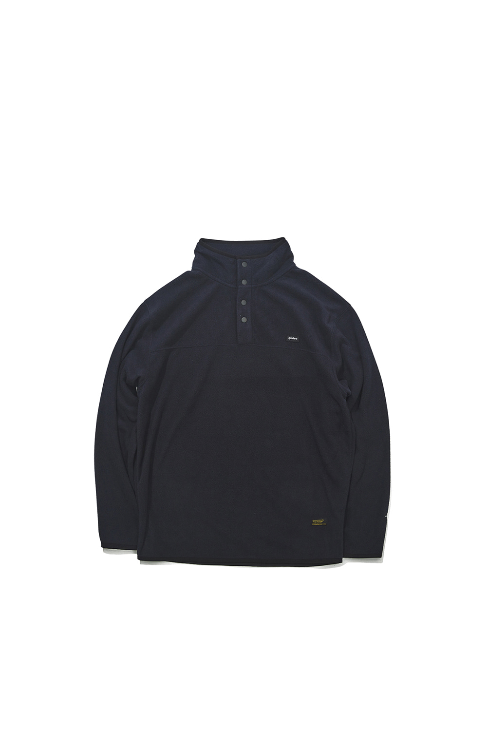 512 FLEECE PULLOVER 	NAVY