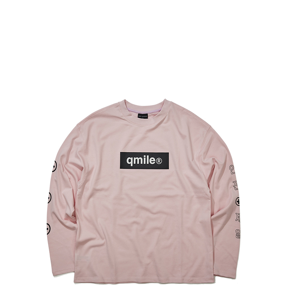 601 BECAREFUL LS 	LIGHT PINK