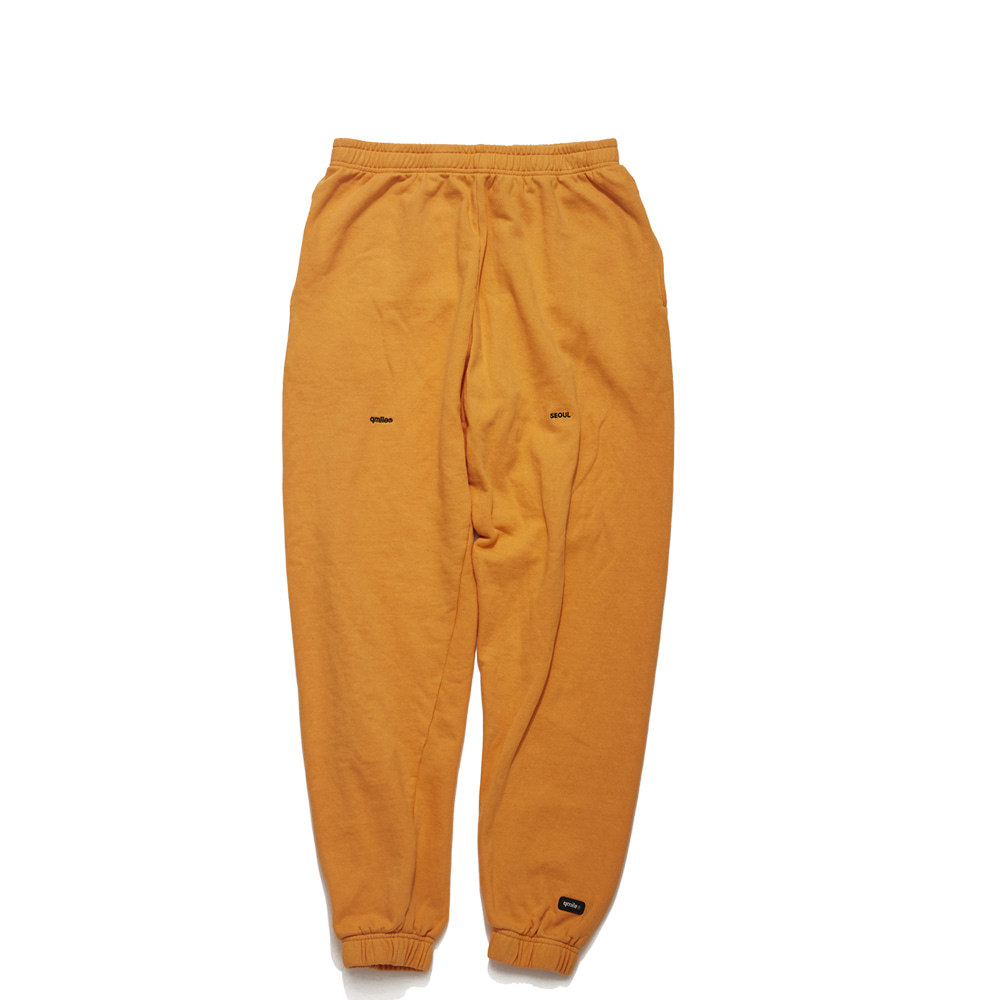 61A HLTDOK™ TYMAX LOGO EMBROIDERY SWEATPANTS ORANGE
