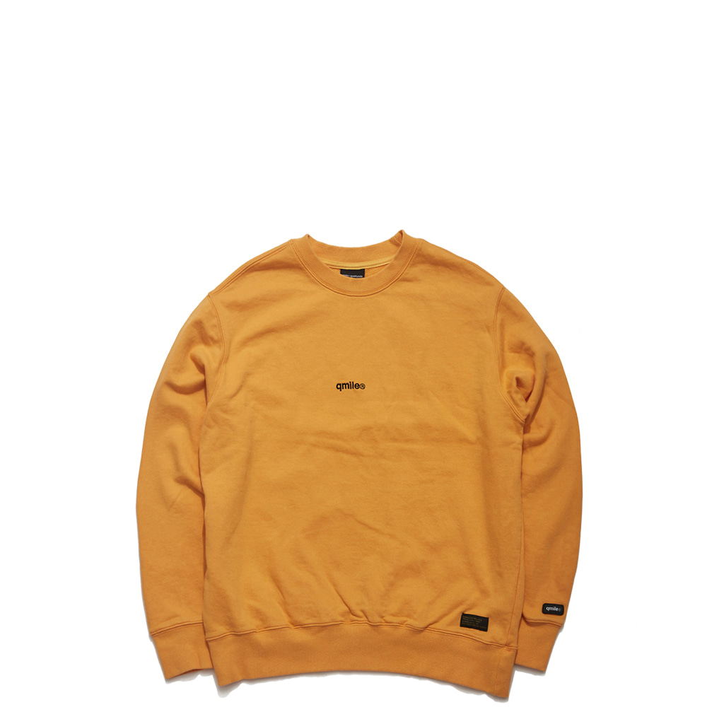 60A HLTDOK™ TYMAX LOGO EMBROIDERY CREWNECK ORANGE