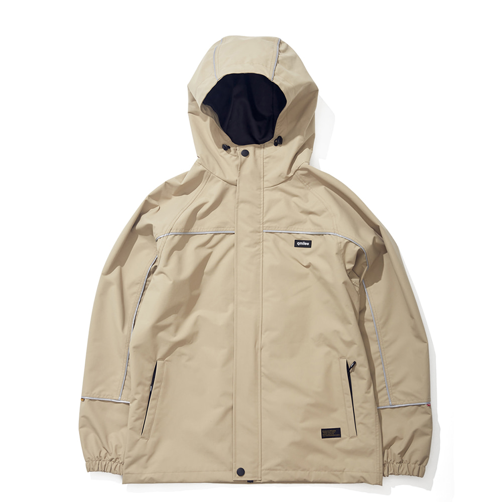 21A REFLECTIVE LINE JACKET LIGHT BEIGE