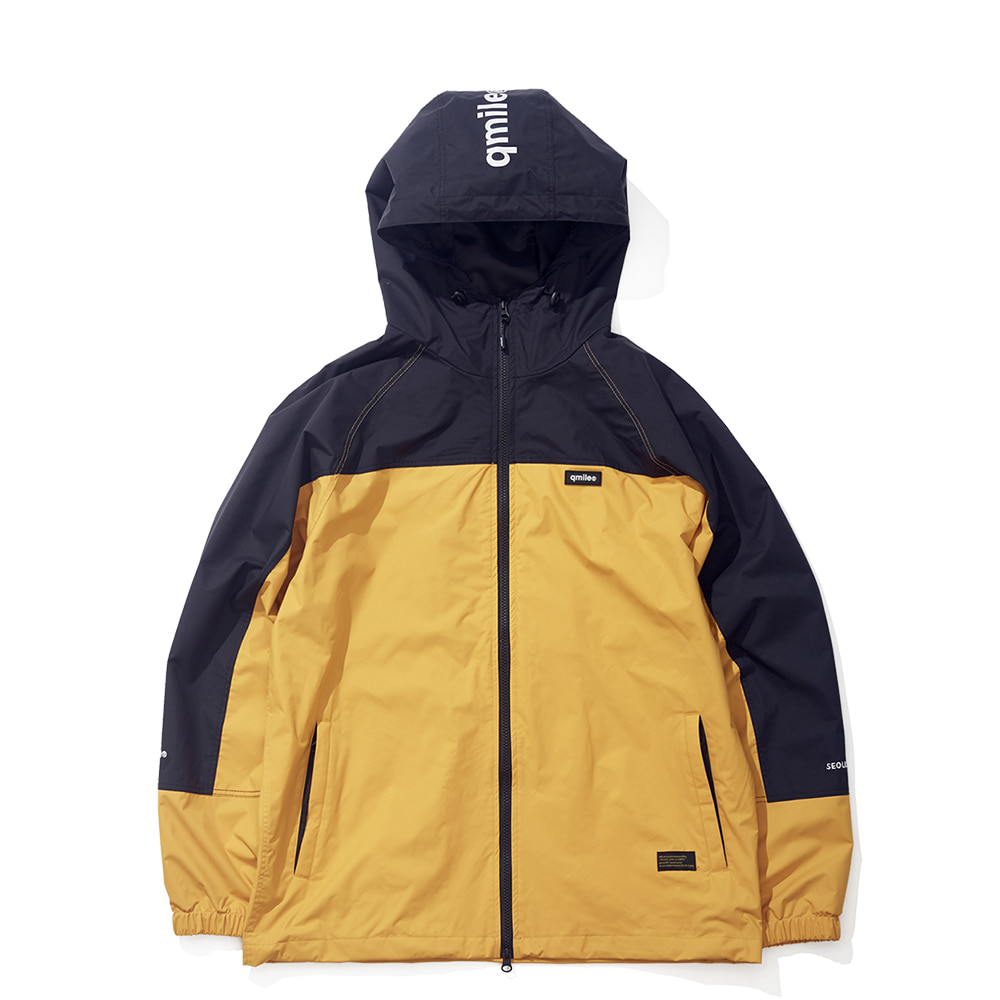 23A UPPER BLOCK JACKET YELLOW