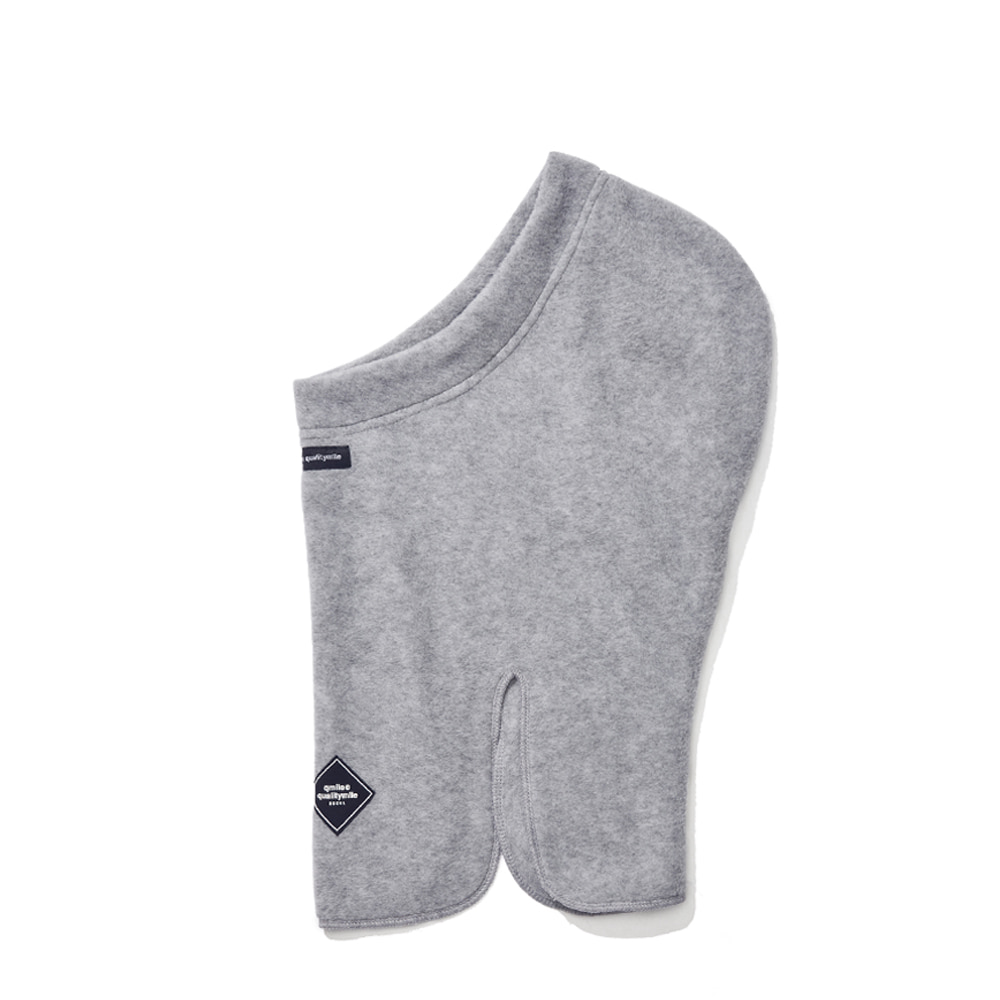 FLEECE OPEN BALACLAVA GREY